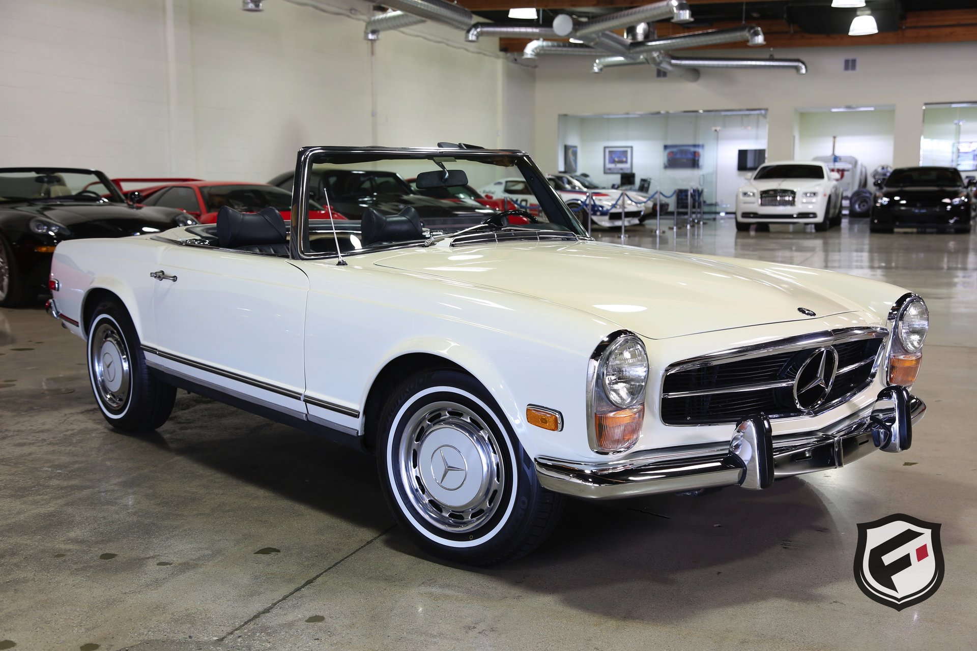 1969 Mercedes Benz 280sl For Sale 64466 Mcg