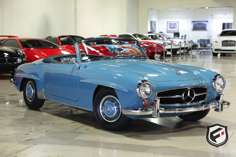1960 mercedes benz 190sl fusion luxury motors for Mercedes benz pay monthly