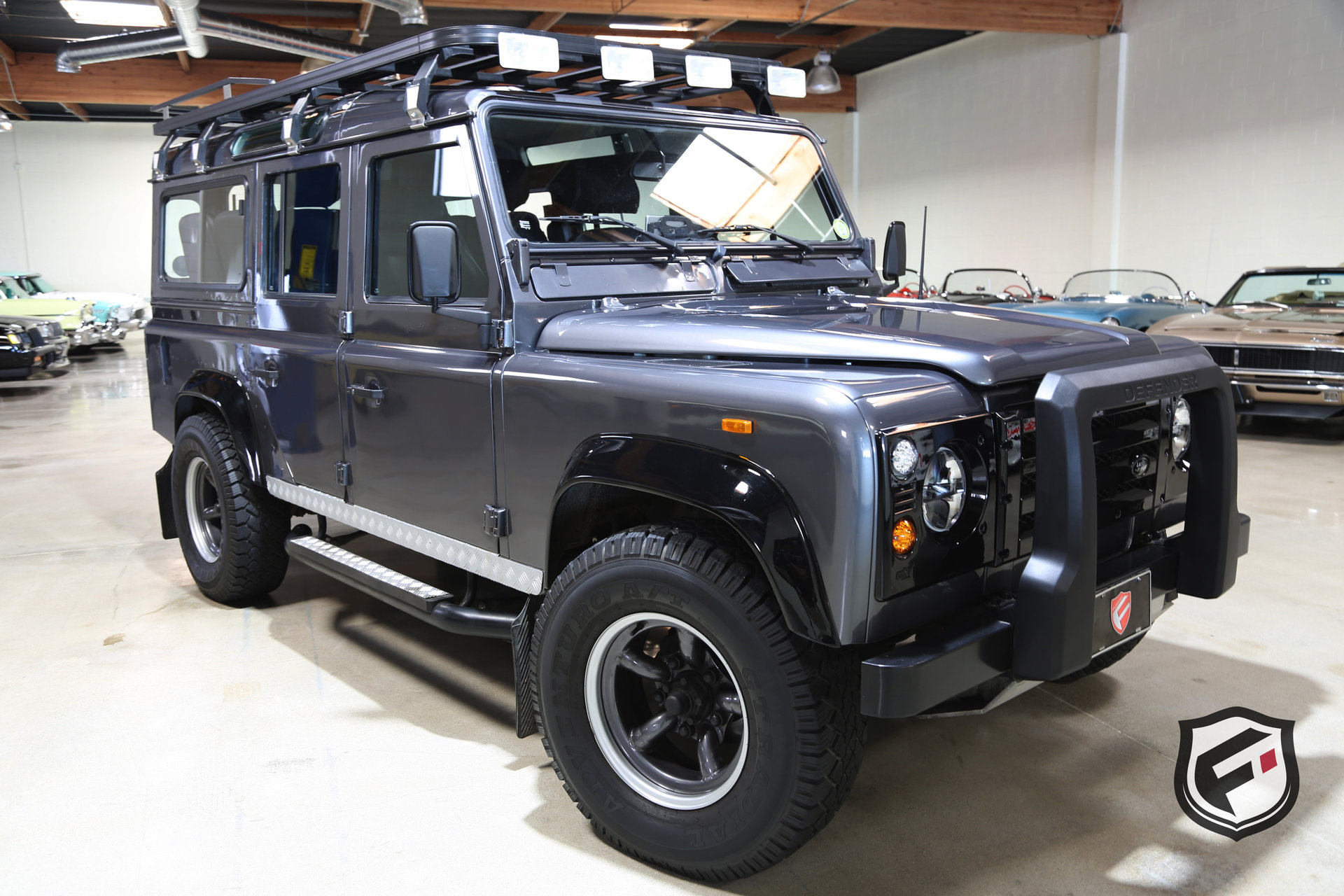1988 land rover defender 110 for sale 78250 mcg. Black Bedroom Furniture Sets. Home Design Ideas