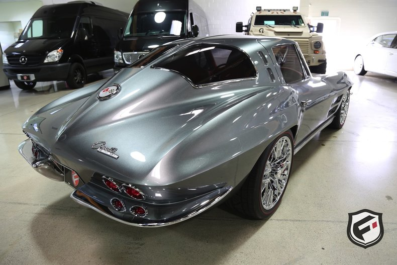 1963 Chevrolet Corvette Split Window SEMA Car Fusion