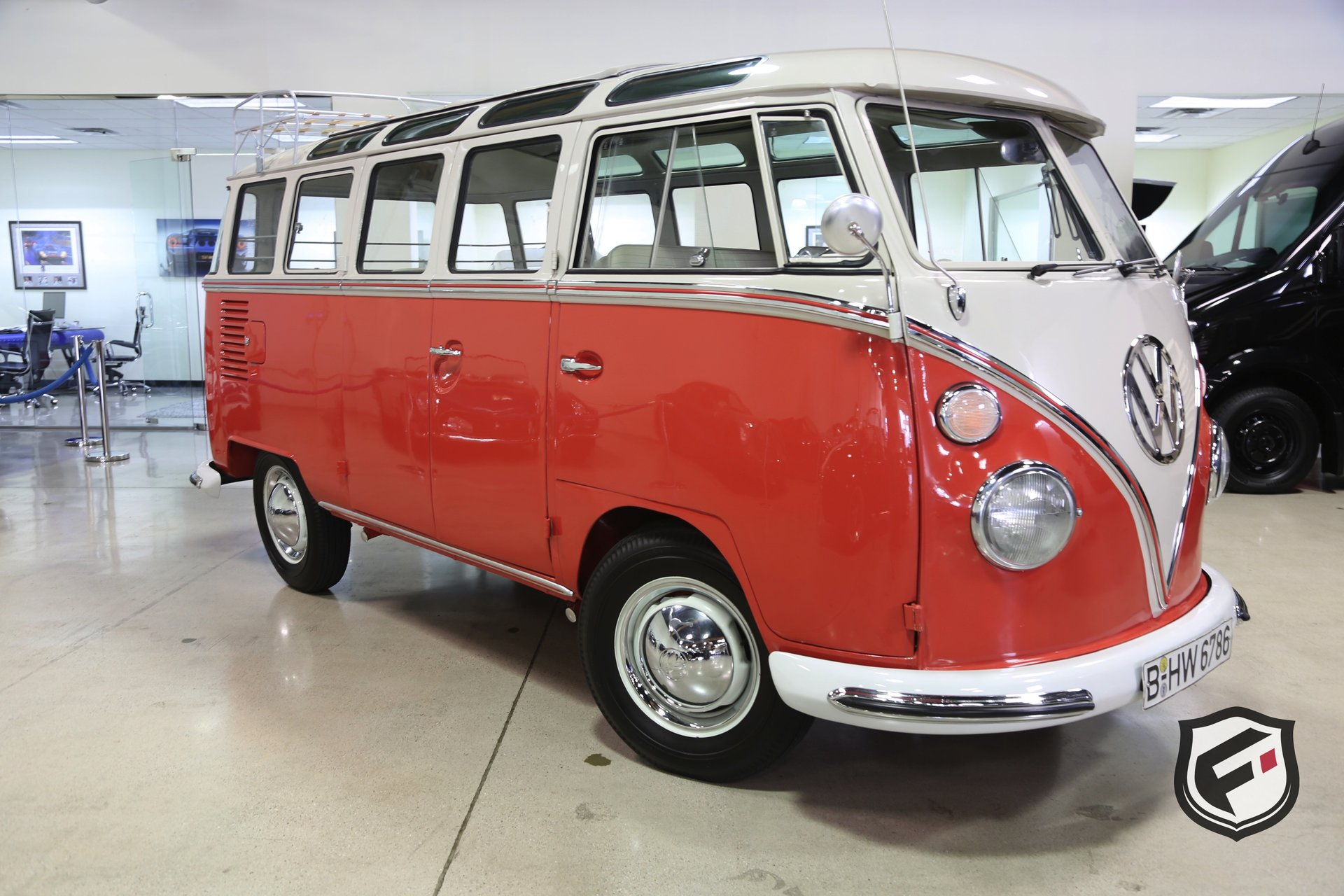 1963 volkswagen 23 window samba bus fusion luxury motors. Black Bedroom Furniture Sets. Home Design Ideas