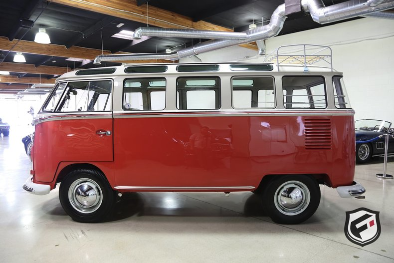 1963 Volkswagen 23 Window Samba Bus