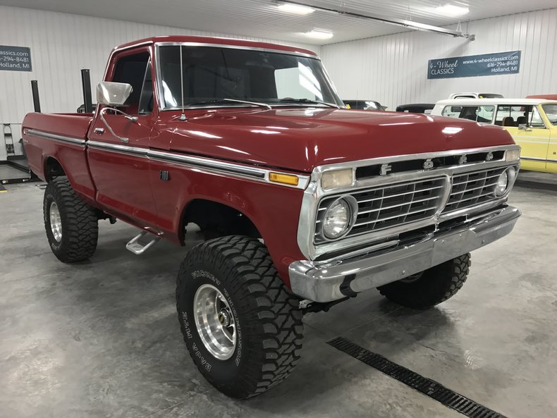 1975 ford f100 for sale 64203 mcg for Garage ford maurecourt 78