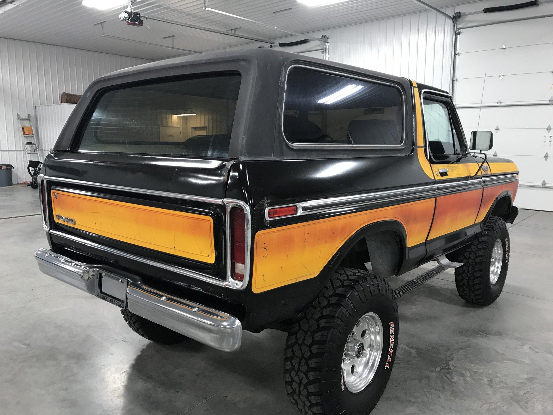 1979 ford bronco for sale 68133 mcg. Black Bedroom Furniture Sets. Home Design Ideas