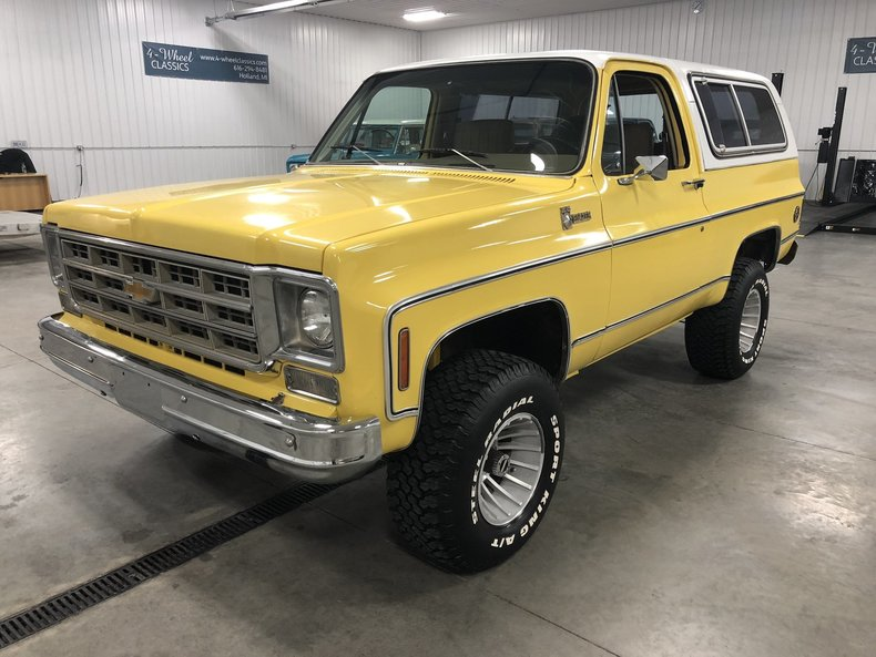 1978 Chevrolet K-5 Blazer