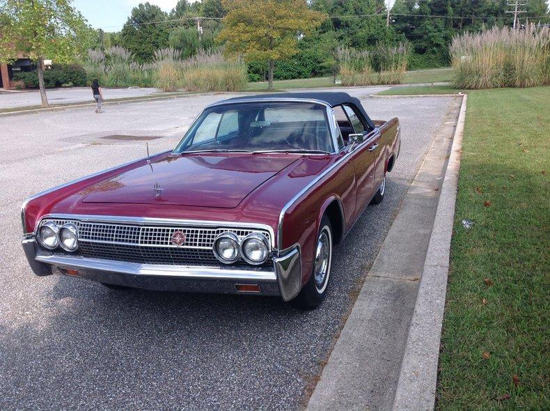 1963 Lincoln Continental