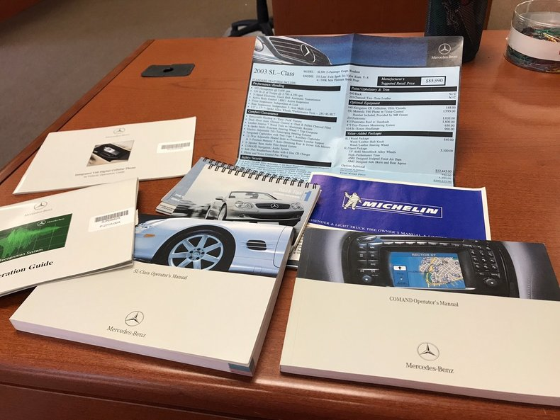 2003 Mercedes Benz Sl500 Gaa Classic Cars