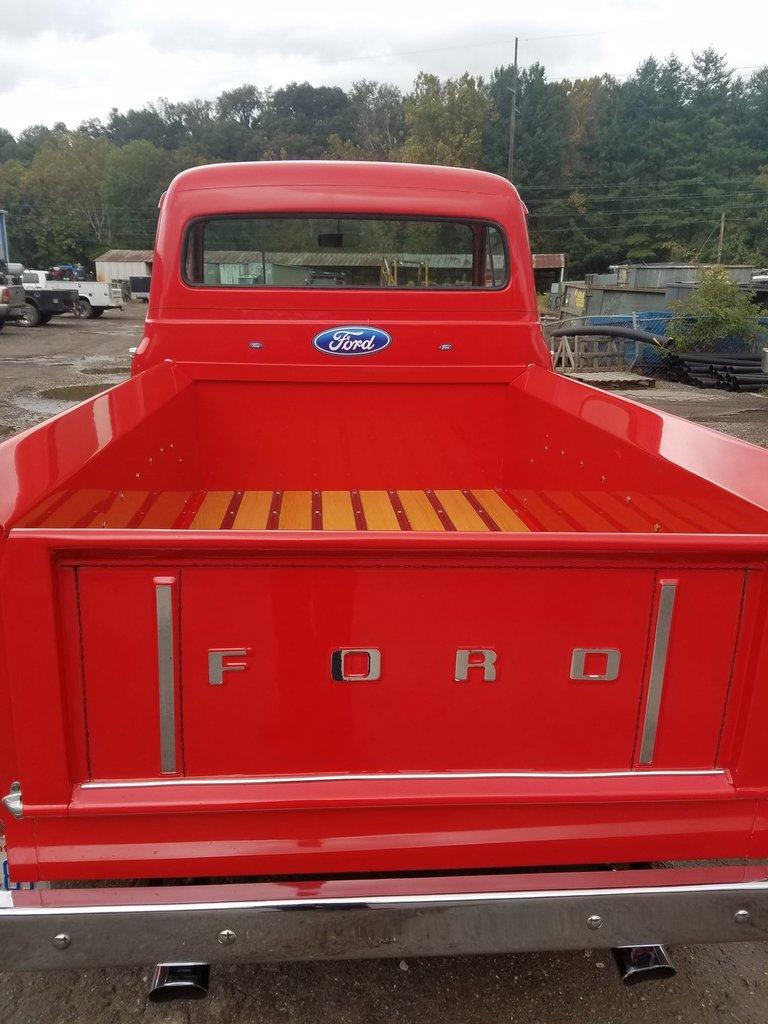 1955 Ford F100 Gaa Classic Cars Truck Interior
