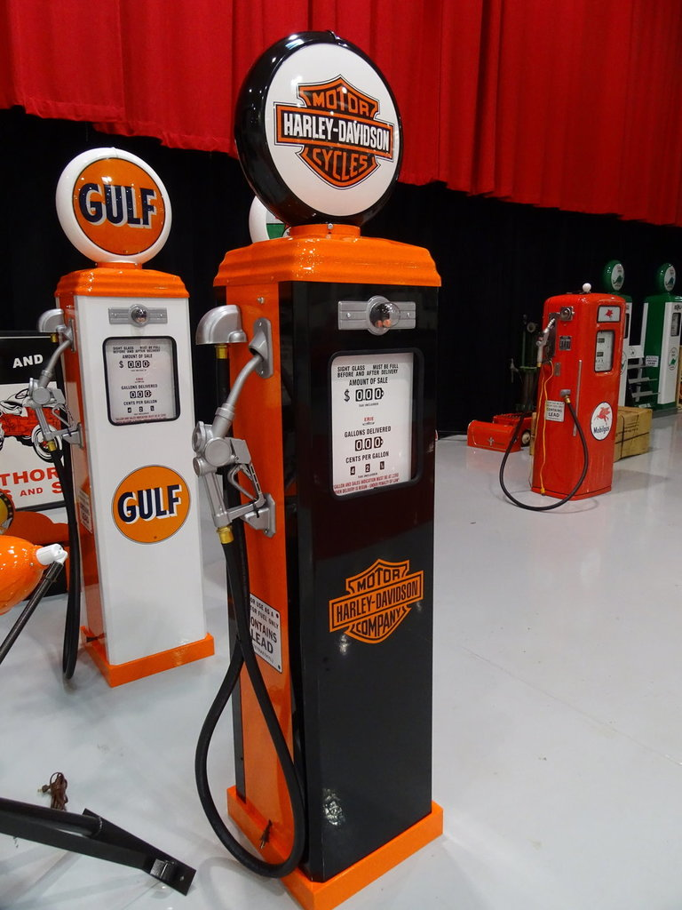 The Reserve Greensboro >> Harley Davidson Gas Pump   GAA Classic Cars
