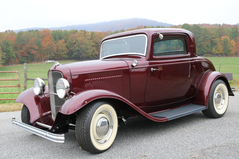 1932 ford 3 window coupe gaa classic cars. Black Bedroom Furniture Sets. Home Design Ideas