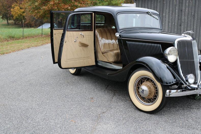 1934 ford 4 door sedan gaa classic cars for 1934 ford 4 door sedan