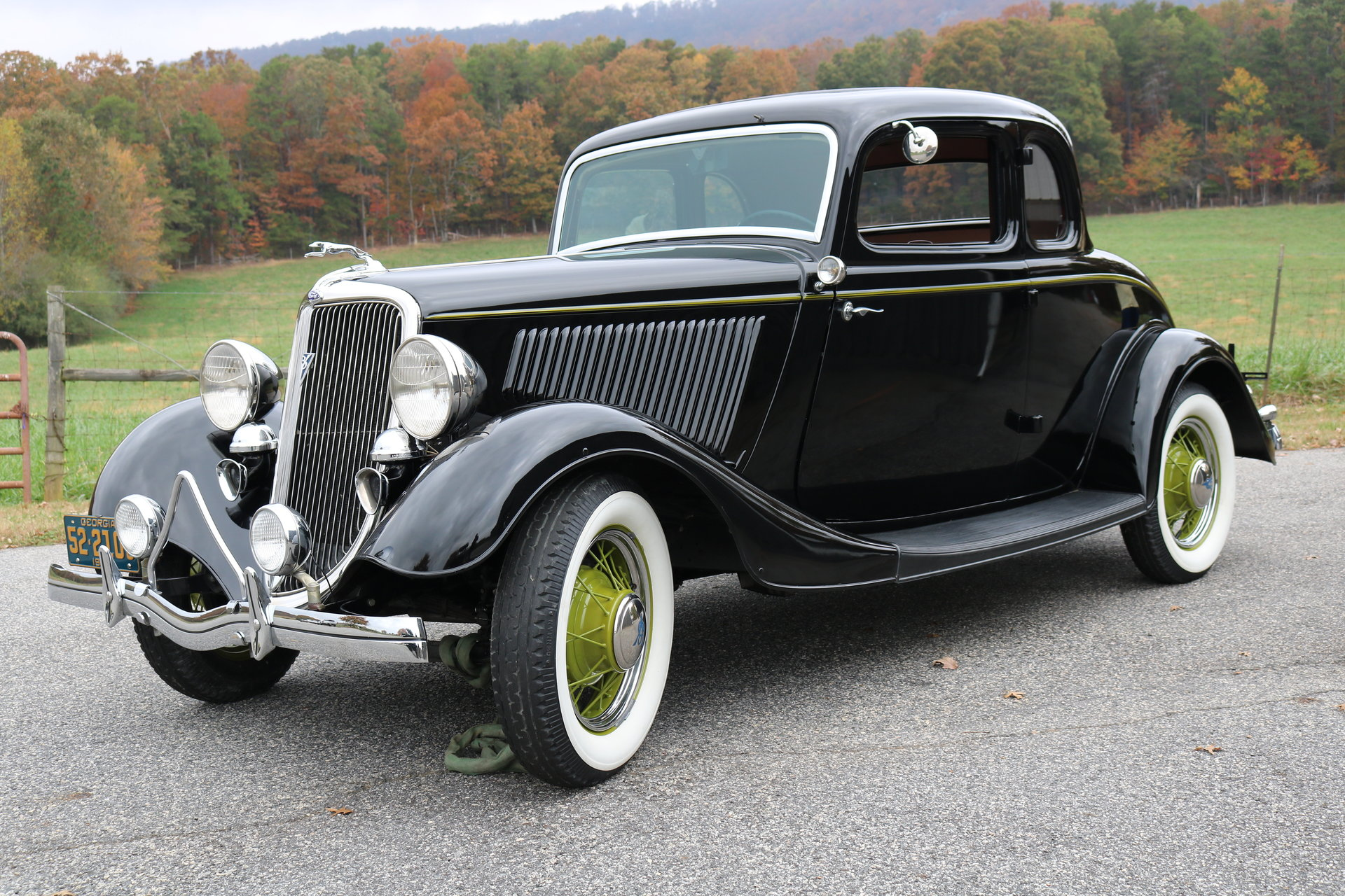 1934 ford 5 window coupe gaa classic cars. Black Bedroom Furniture Sets. Home Design Ideas