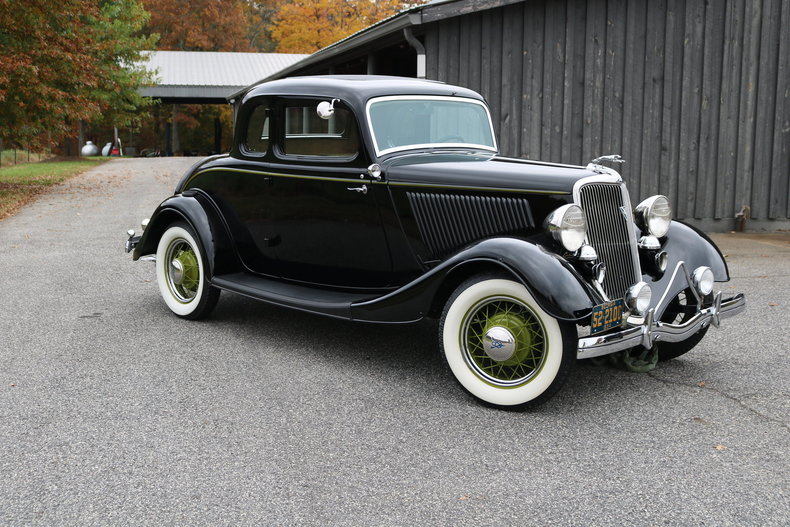 1934 ford 5 window coupe gaa classic cars for 1934 5 window coupe for sale