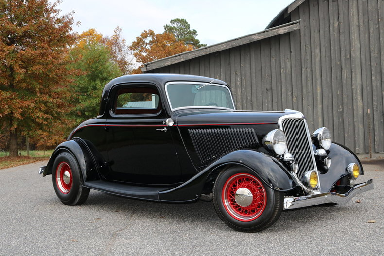 1934 ford 3 window coupe gaa classic cars. Black Bedroom Furniture Sets. Home Design Ideas