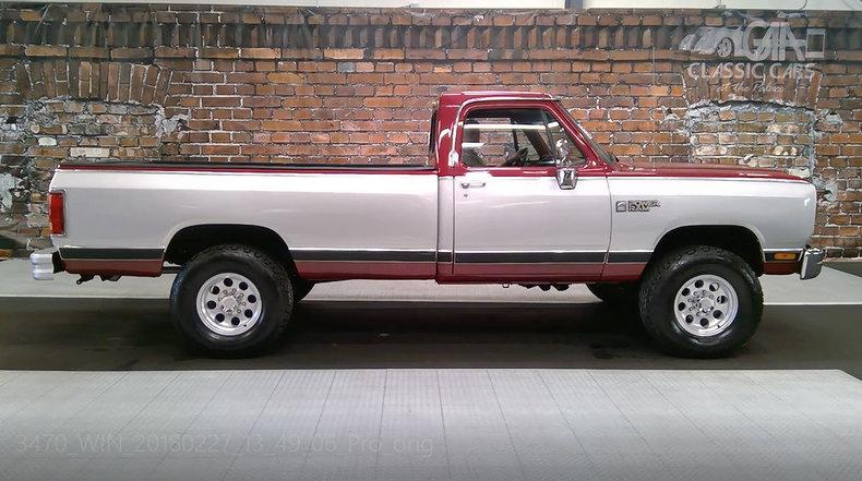 1986 Dodge 250 Power Ram