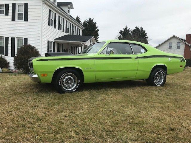1970年 プリムス ダスター 340CID 295HP