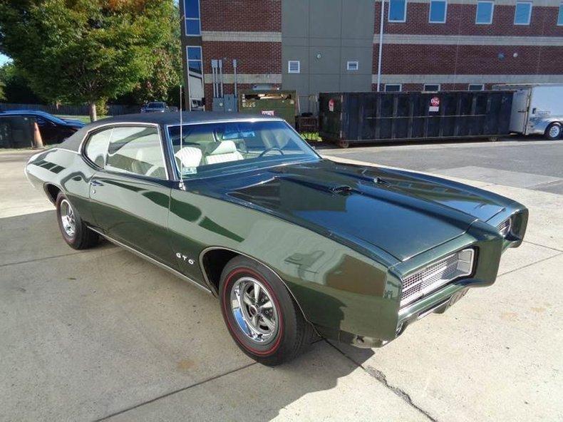 Gsa Auto Auction >> 1969 Pontiac Gto Gaa Classic Cars