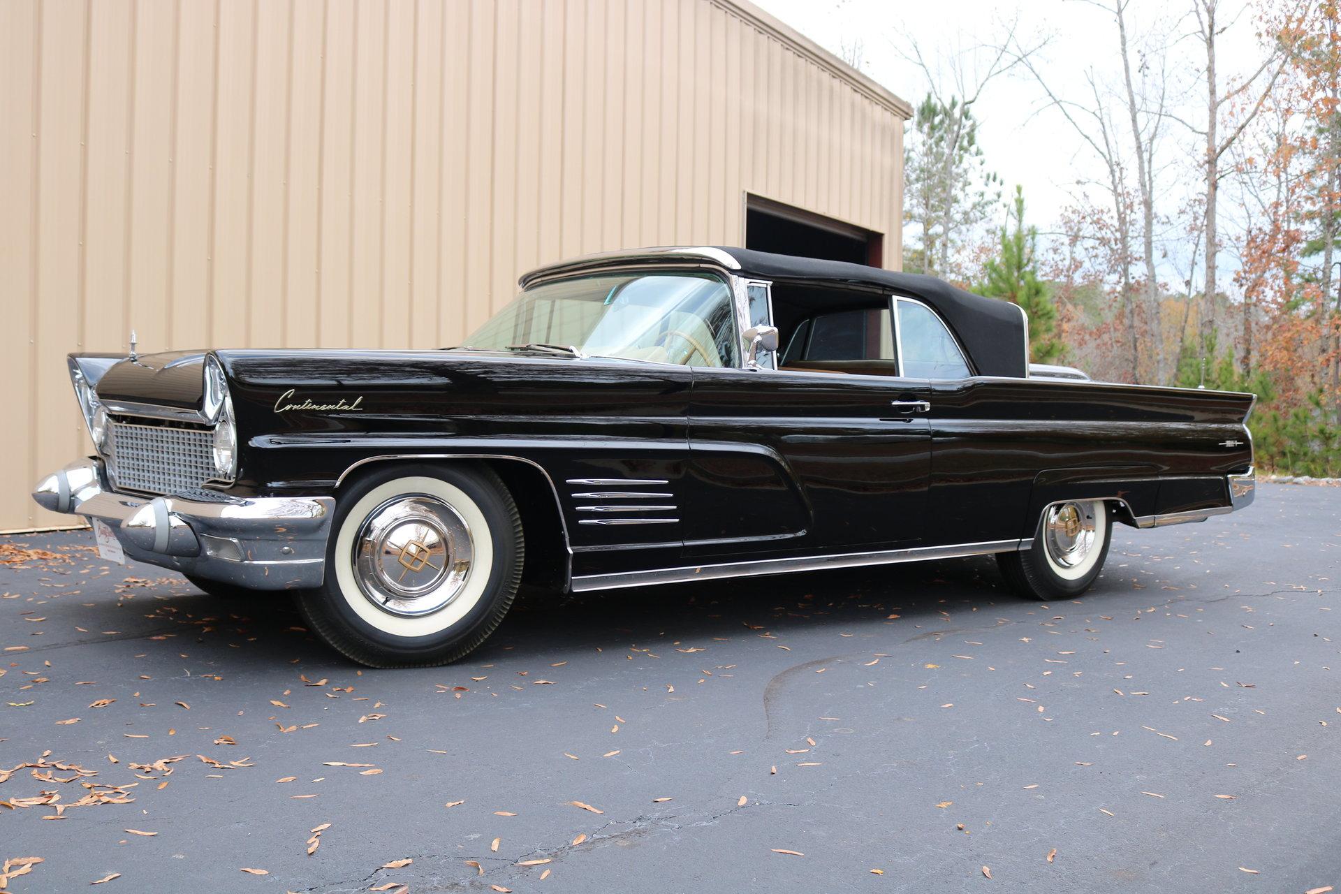 1960 lincoln continental gaa classic cars. Black Bedroom Furniture Sets. Home Design Ideas