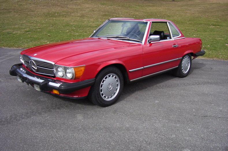 1987 Mercedes Benz 560 Sl Gaa Classic Cars