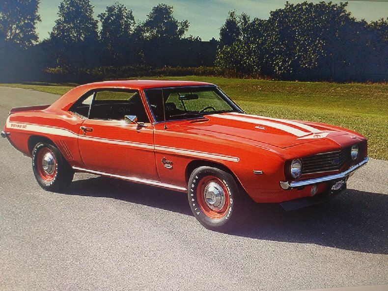 Norwalk Auto Auction >> 1969 Chevrolet Camaro   GAA Classic Cars