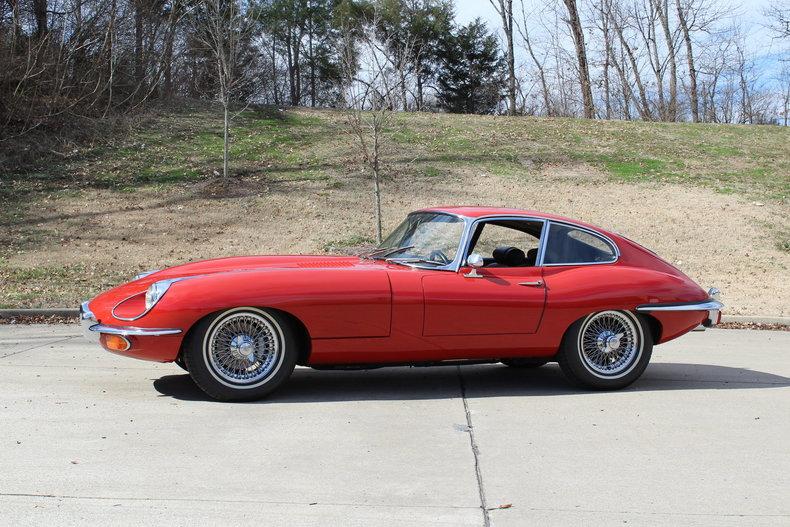 1970 Jaguar XKE ...