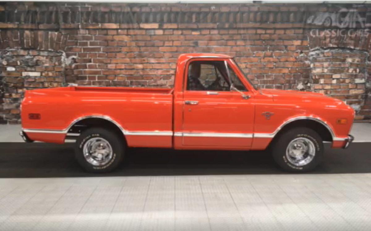 Pickup chevy c10 pickup truck 1968 Chevrolet C10 | GAA Classic Cars