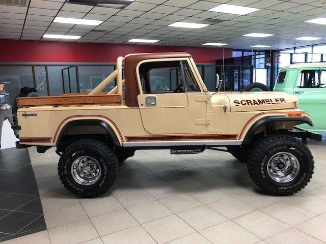 2019 Diesel Jeep Wrangler >> 1982 Jeep Scrambler | GAA Classic Cars