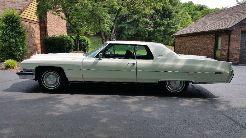 1973 1973 Cadillac Coupe DeVille For Sale
