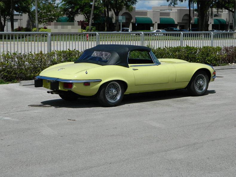 1974 Jaguar XKE ...