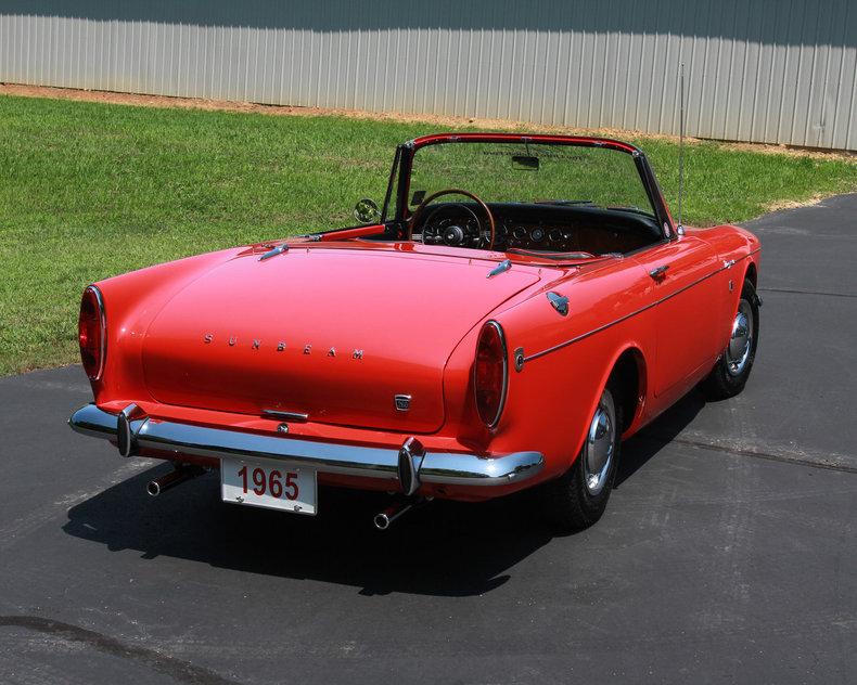 1965 Sunbeam Tiger Gaa Classic Cars