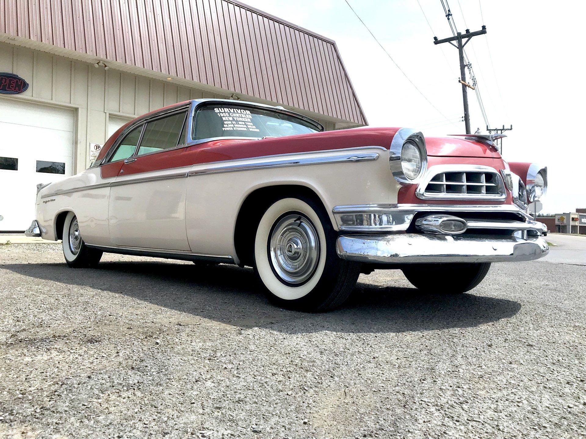 Inventory My Classic Garage 1954 Chrysler New Yorker Deluxe Newport