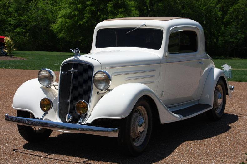 1935 Chevrolet 3-Window Coupe