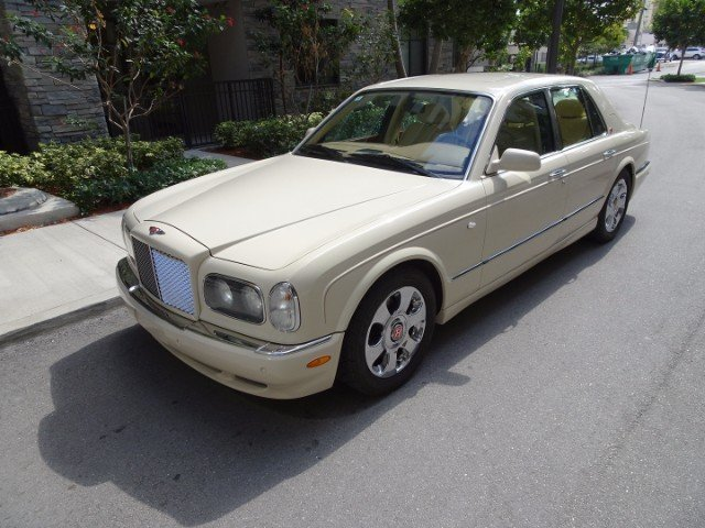 2002 Bentley Arnage R For Sale 74637 Mcg