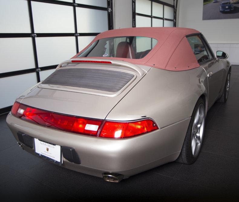 1998 Porsche 993 Cabriolet