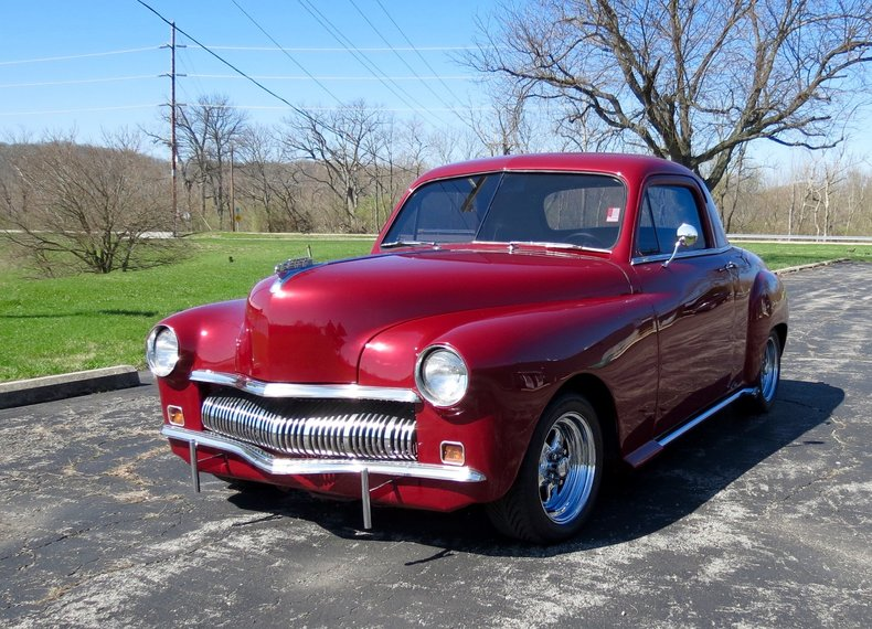 1949 plymouth business coupe custom for sale 66765 mcg. Black Bedroom Furniture Sets. Home Design Ideas