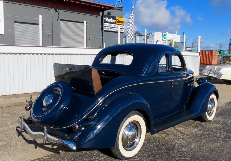 1936 ford coupe for sale 62389 mcg for Garage seat 91