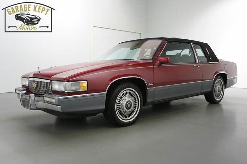 1990 cadillac deville garage kept motors rh garagekeptmotors com 1982 Cadillac Fleetwood Brougham 1986 Cadillac Sedan Deville