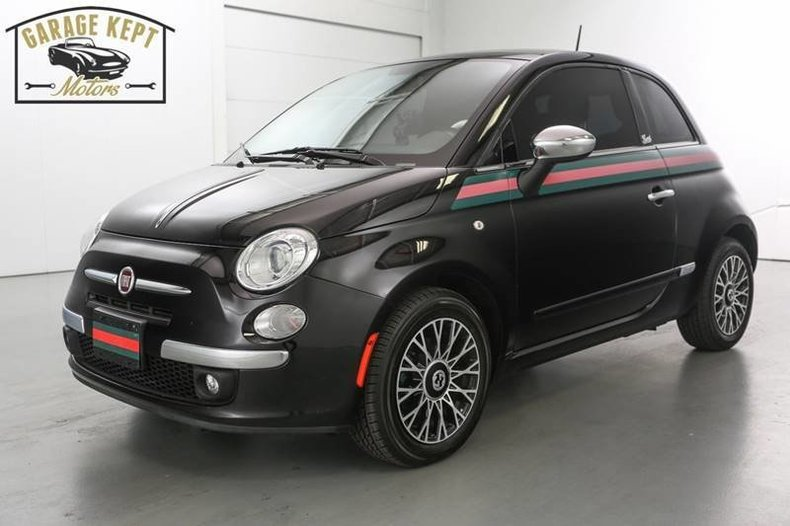 2012 fiat 500 gucci for sale 1202 mcg. Black Bedroom Furniture Sets. Home Design Ideas