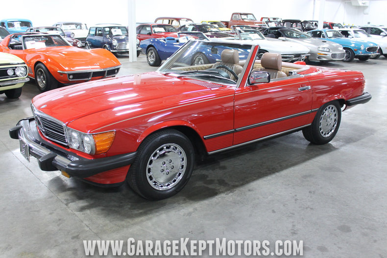 1986 1986 Mercedes-Benz 560SL For Sale