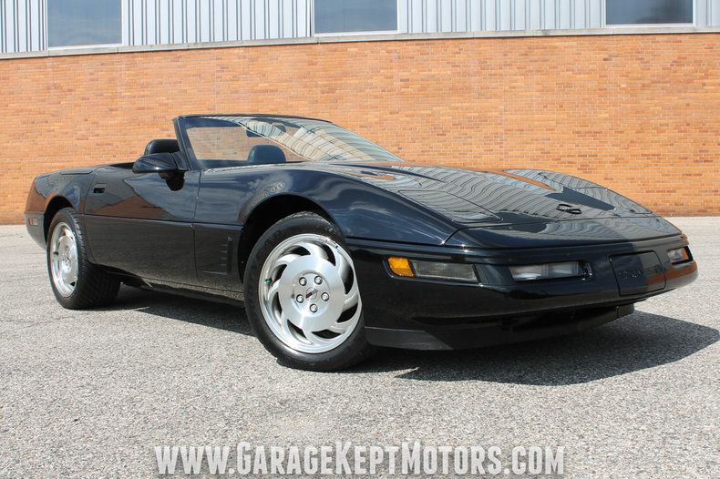 1995 chevrolet corvette convertible for sale 63868 mcg. Black Bedroom Furniture Sets. Home Design Ideas