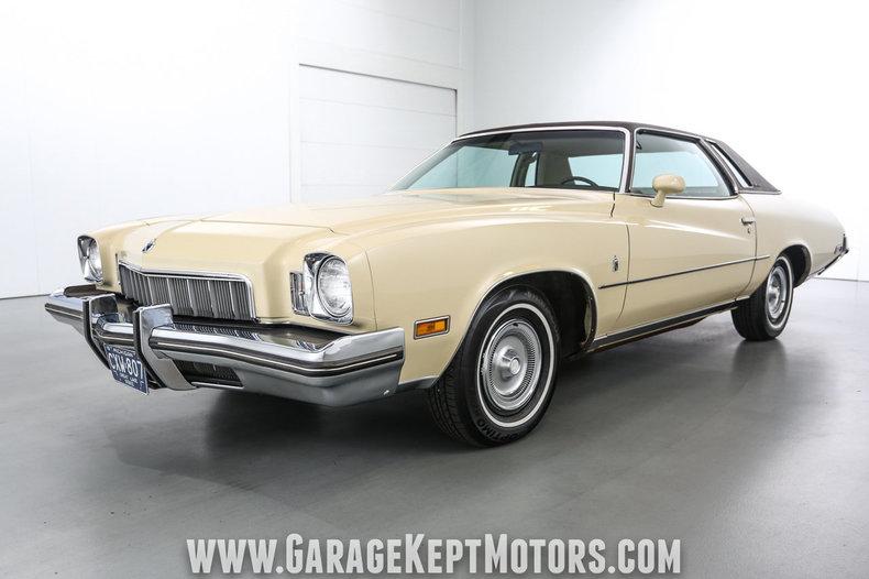 1973 Buick Regal Light Yellow Coupe 350ci V8 40095 Miles