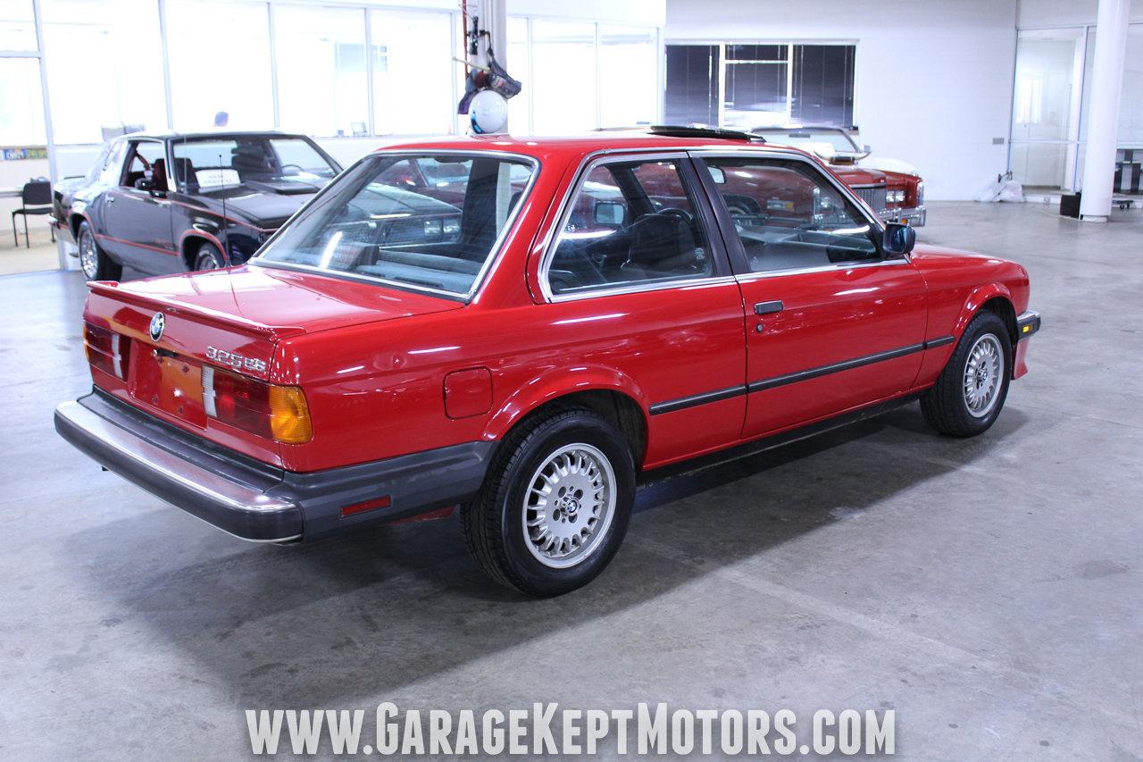 1986 bmw 325e specs