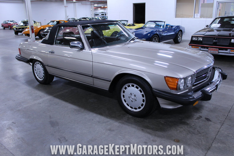 1989 1989 Mercedes-Benz 560SL For Sale