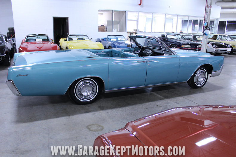 1966 Lincoln Continental 4-Door Convertible: 1966 Lincoln Continental 4-Door Convertible Medium Turquoise Metallic Convertibl