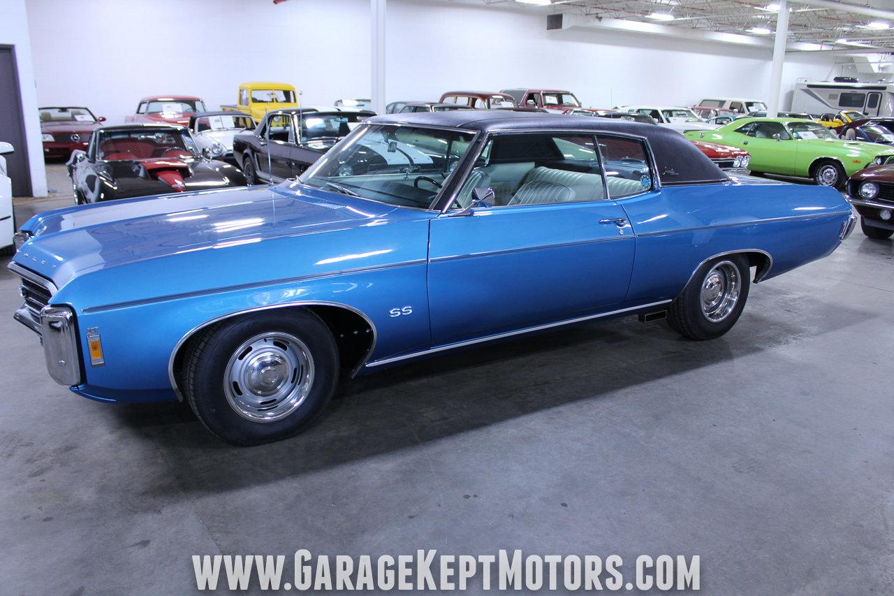 1969 chevrolet impala ss custom coupe for sale 86792 mcg. Black Bedroom Furniture Sets. Home Design Ideas