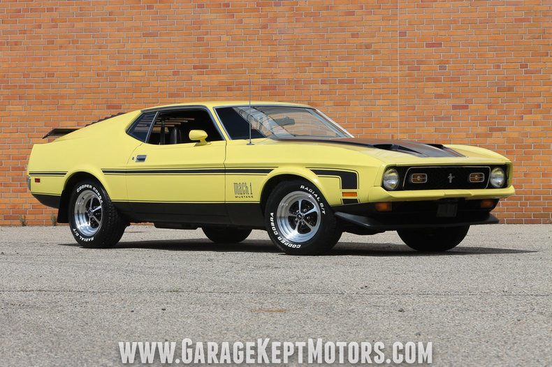 1972 Ford Mustang Mach 1 For Sale 92452 Mcg