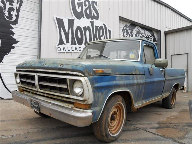 1971 ford f100 gas monkey garage