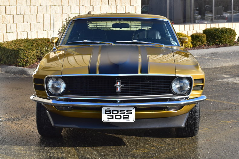 1970 ford boss 302 mustang for sale 75966 mcg. Black Bedroom Furniture Sets. Home Design Ideas