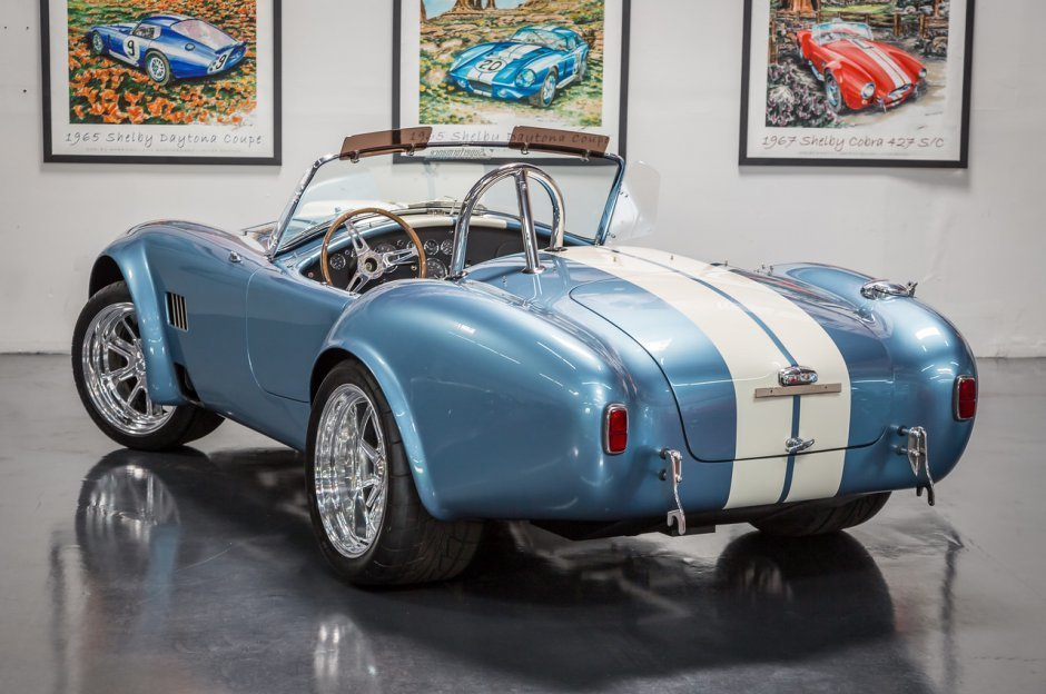 F B Eb Hd Superformance Mkiii Sp on Ac Cobra Side Exhaust Pipes