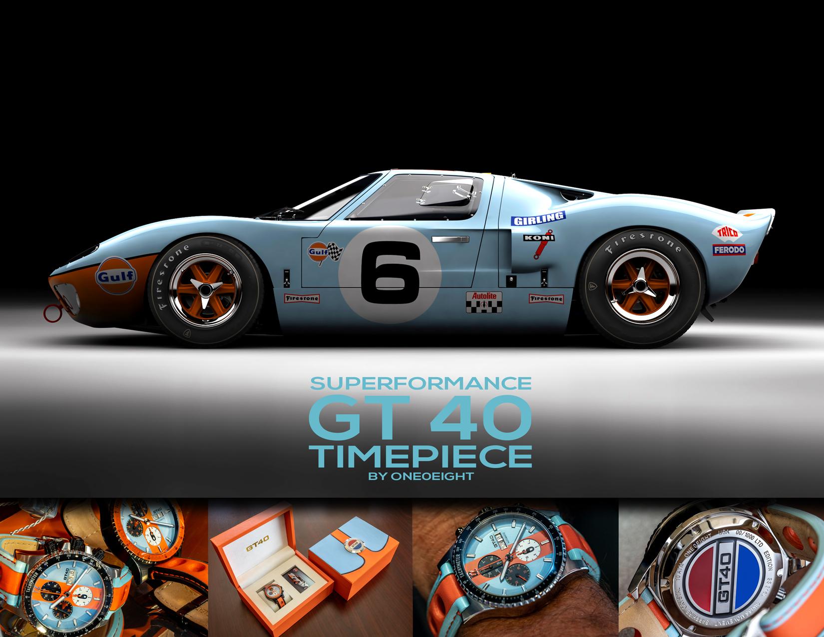 Superformance GT40 Watch